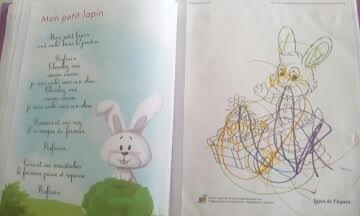 Mon petit lapin s 39 est cach dans le jardin - Mon petit lapin s est cache dans le jardin paroles ...